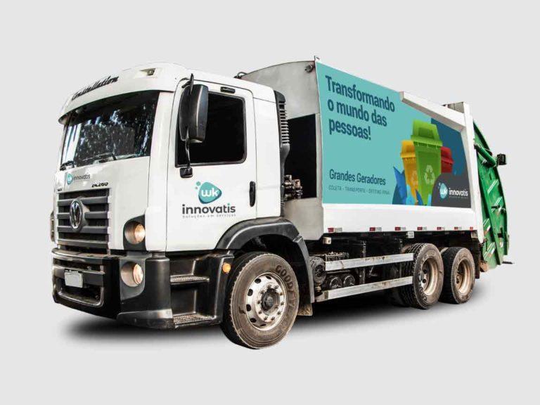 Veículo Coleta de Resíduos Sólidos